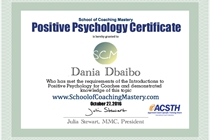 DaniaDbaibo Positive Psychology1